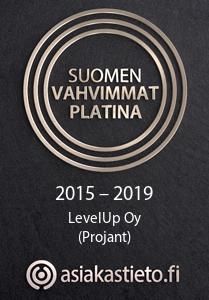 PL LOGO LevelUp Oy Projant